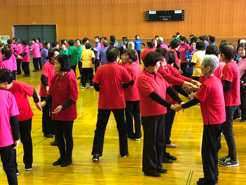 シニアクラブ レクダンス