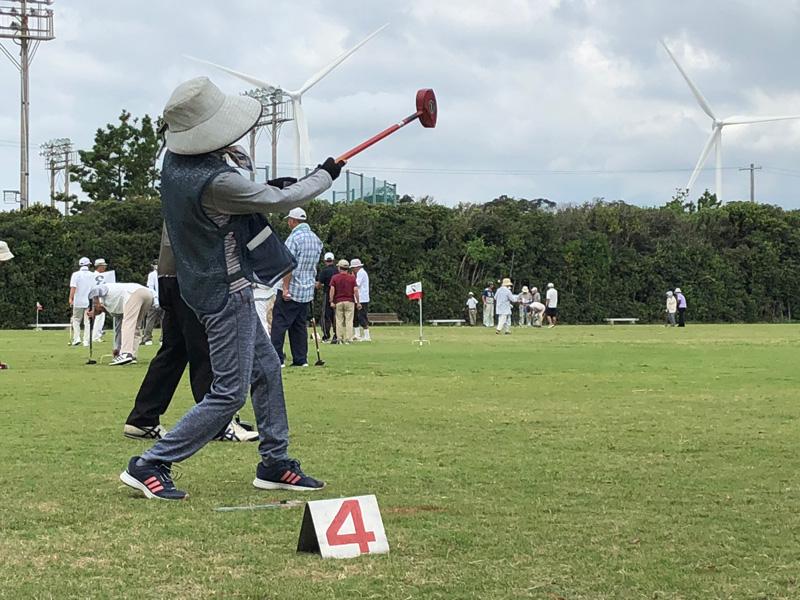 シニアクラブ グラウンドゴルフ